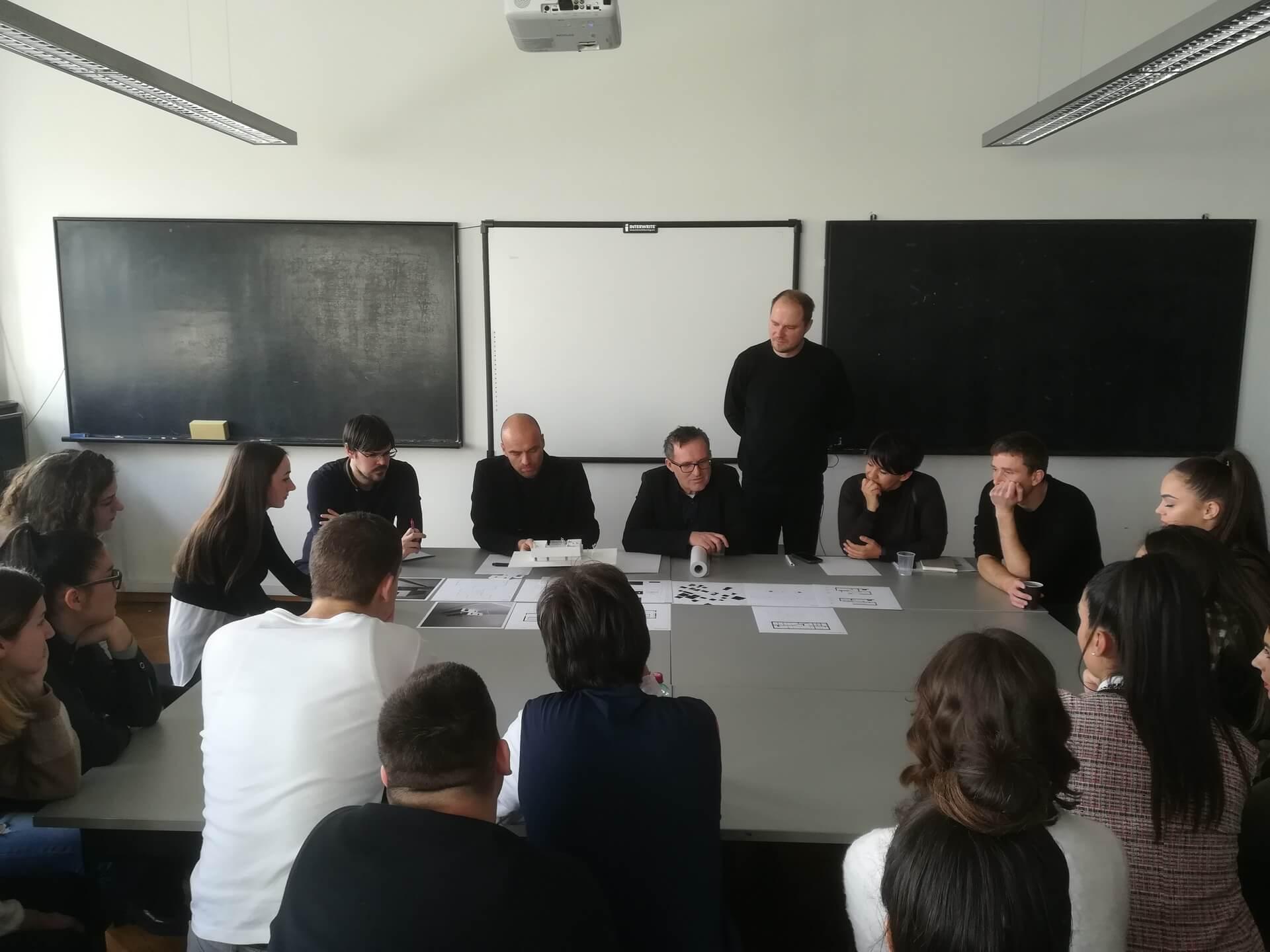 Građevinski Fakultet Sveucilista U Mostaru Faculty Of Civil Engineering University Of Mostar Nastava U Zagrebu Stambene Zgrade I