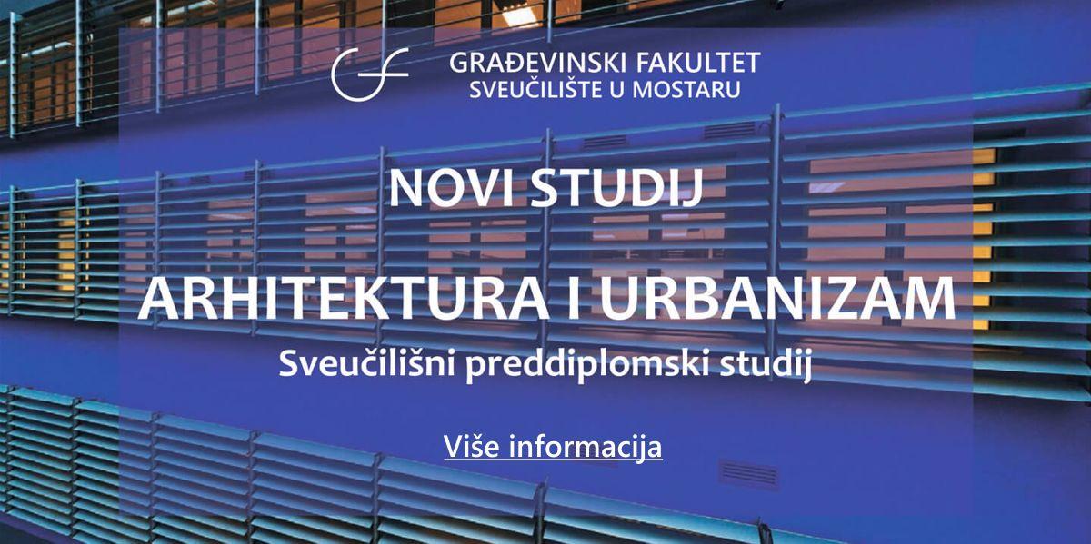 Građevinski Fakultet Sveucilista U Mostaru Faculty Of Civil